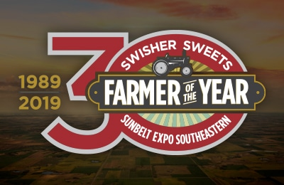 Swisher Sweets Sunbelt Expo Southeastern Farm Of The Year Logo