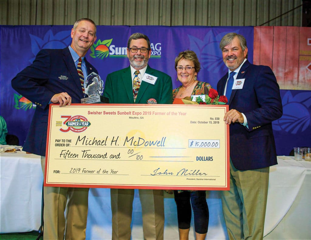 Michael H. McDowell Check for Fifteen Thousand Dollars