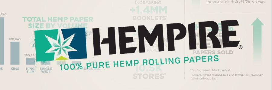 Hempire 100% Pure Hemp Rolling Papers