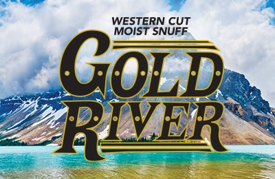 Western Cut Moist Snuff Gold River Logo