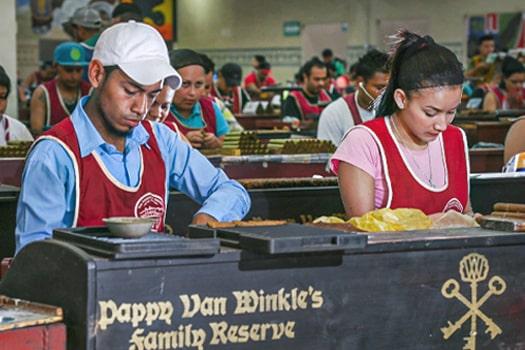 pappy van winkle factory workers