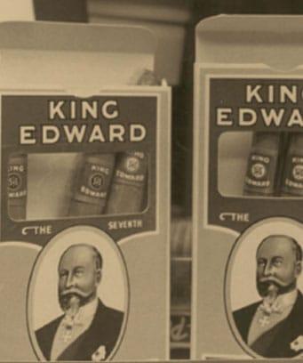 Retro King Edward Cigars Packaging