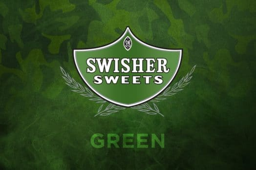 SWISHER SWEETS GREEN CIGARILLOS CAMOUFLAGE DESIGN