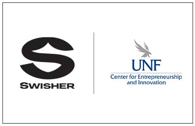 Swisher and UNF Logo