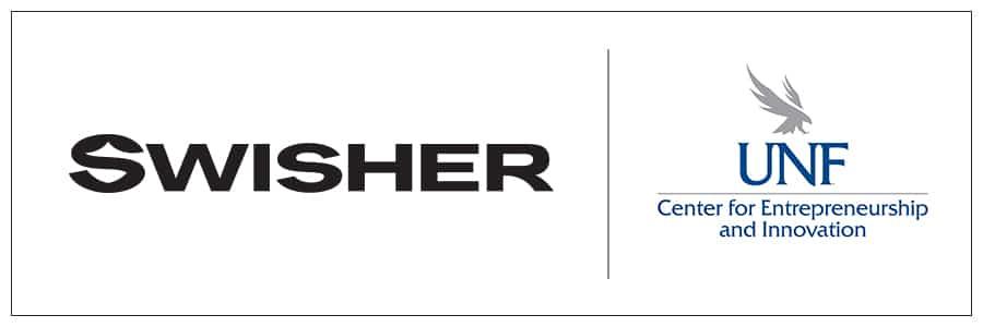 Swisher and UNF Logo