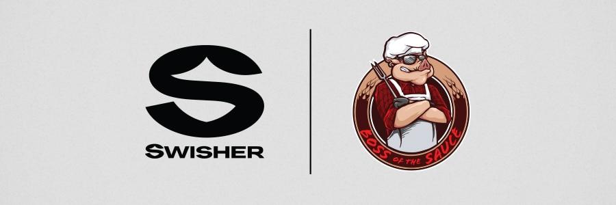 Swisher logo Boss of the Sauce logo