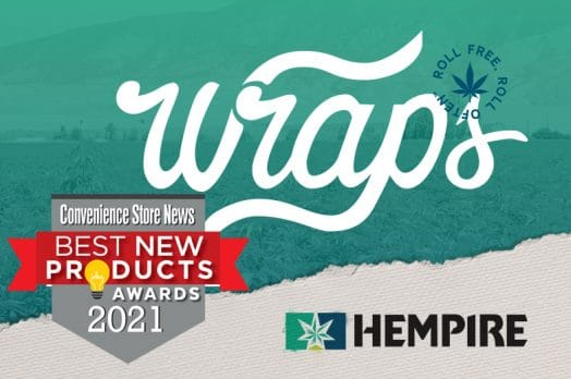 Hempire Wraps Named Best New Product By CSNews