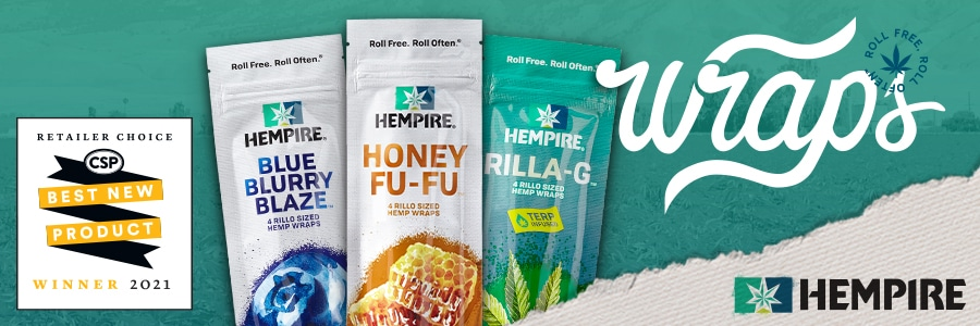 Hempire Wraps have been named a Convenience Store Petroleum Retailer Choice Best New Product