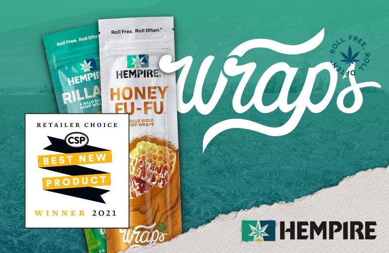 Hempire Wraps Named Convenience Store Petroleum Retailer Choice Best New Product.